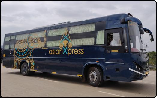 Asian coach tours